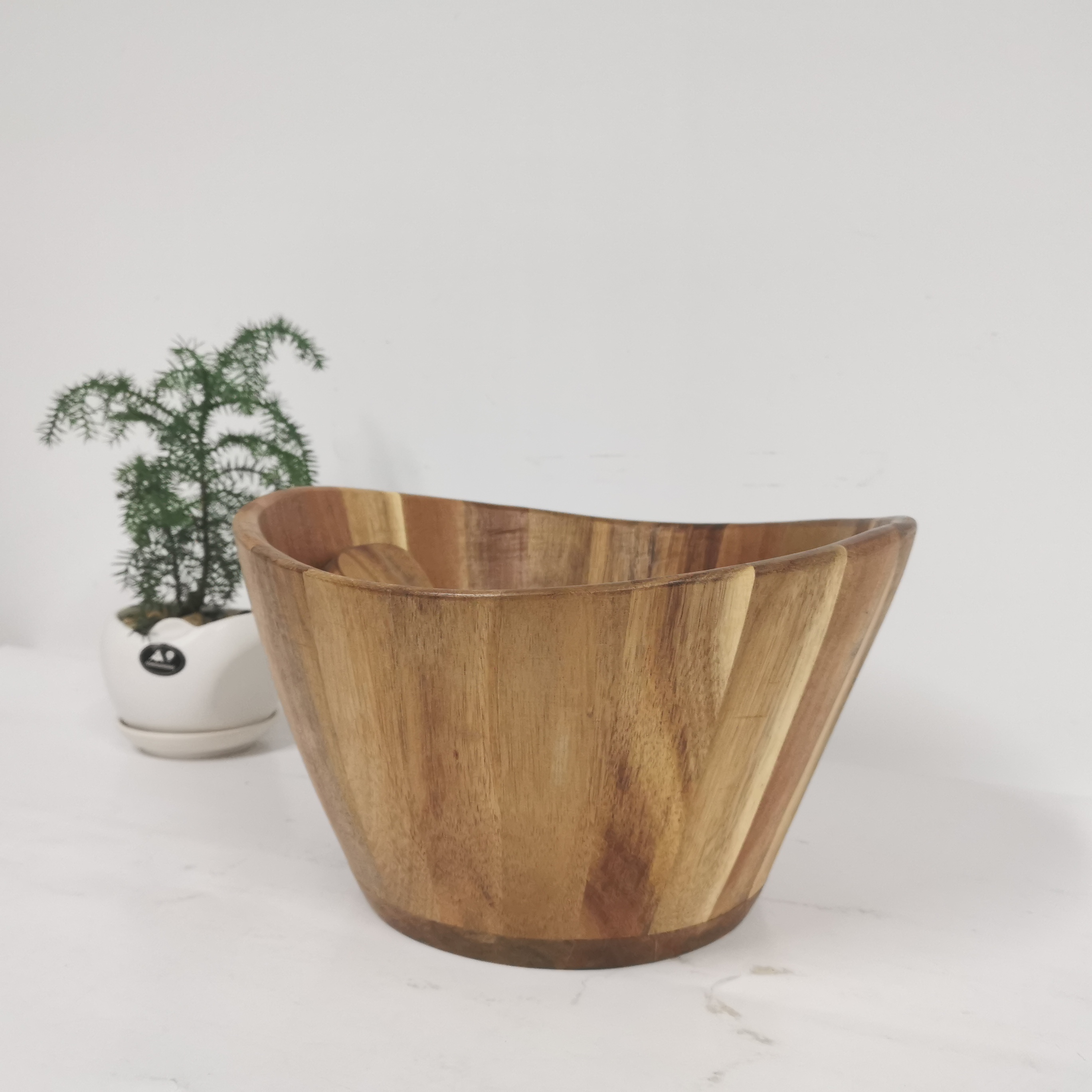Wholesale 100 Acacia Wood Serving Bowl For Fruits Or Salads Buy Wood Salad Bowl Wooden Bowl Wooden Bowl Fruit Product On Alibaba Com