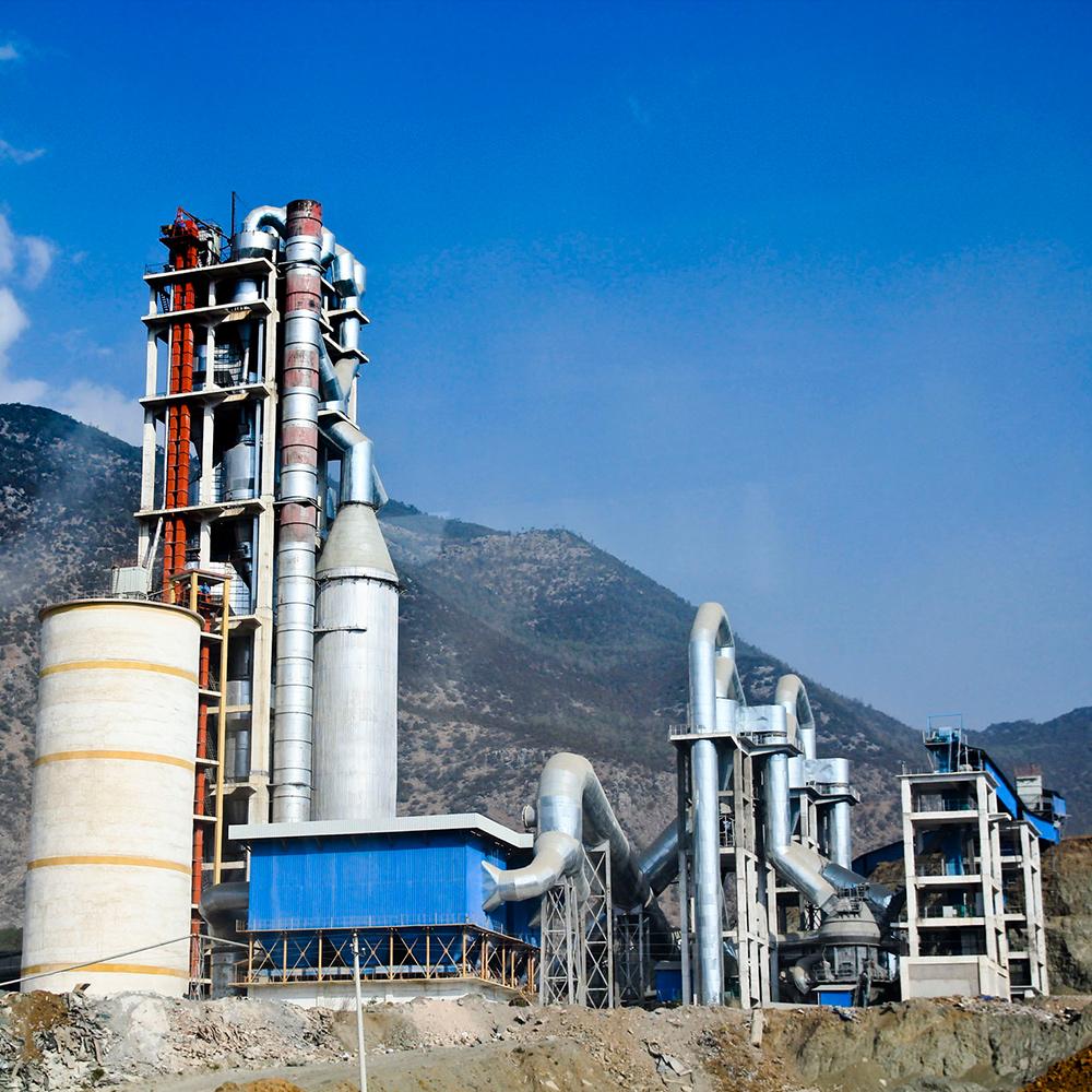 أرخص 1000Tpd مصنع إسمنت تصنيع الأسمنت في الهند