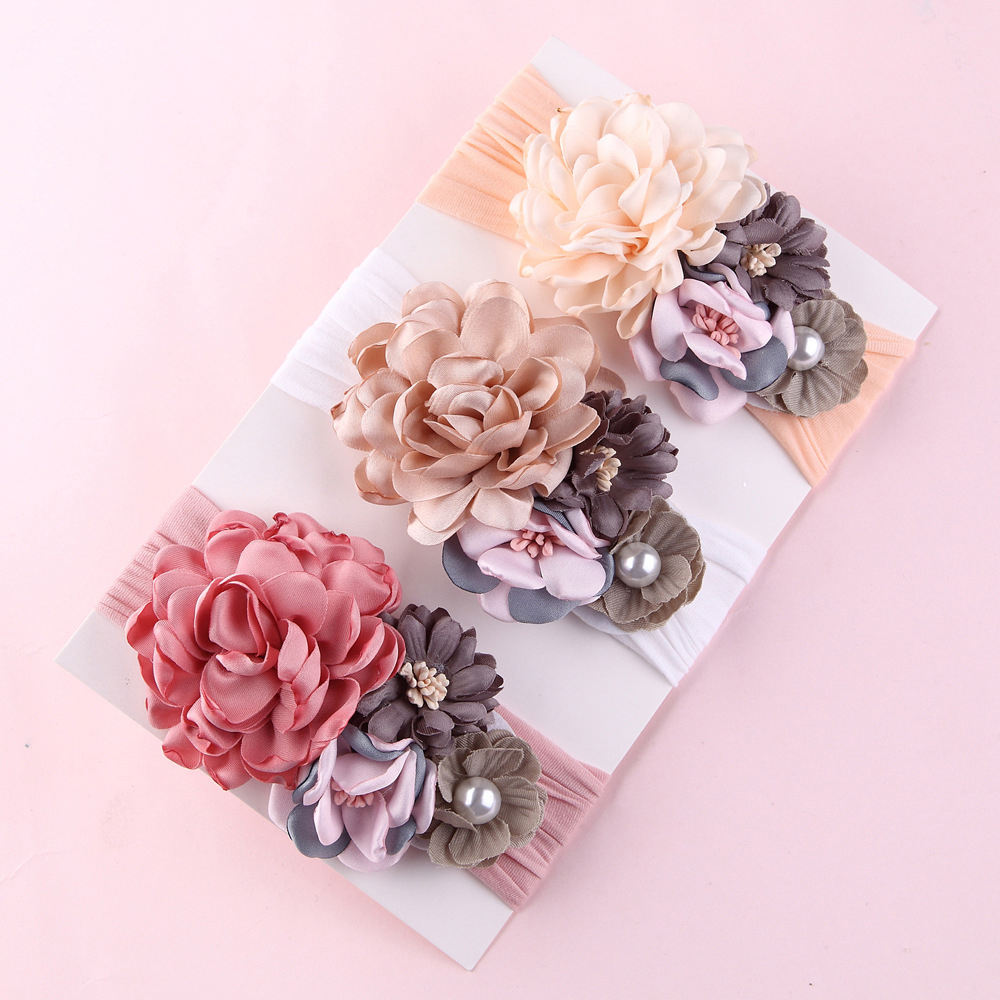 free shipping fancy baby <strong>headband</strong> , baby hair accessories , baby hair band with bowknot