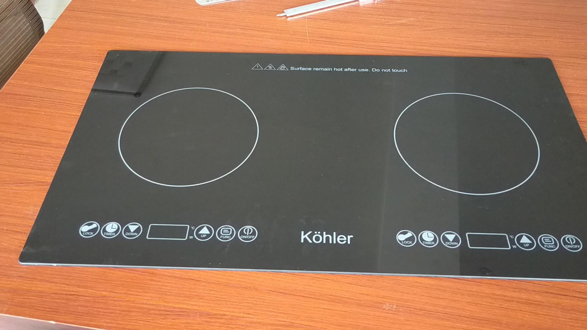 Plaque de cuisson à Induction électrique, en céramique, résistante à la chaleur, dorée, pour la cuisine et la maison, prix utilisé