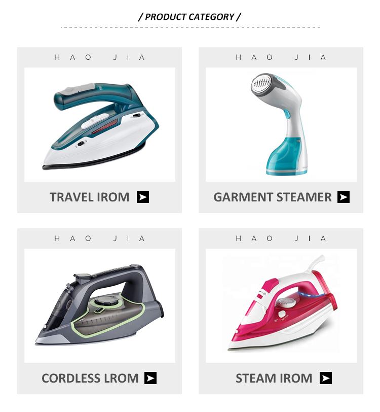 3000W HJ-2083 ceramic handheld electric detachable steam iron