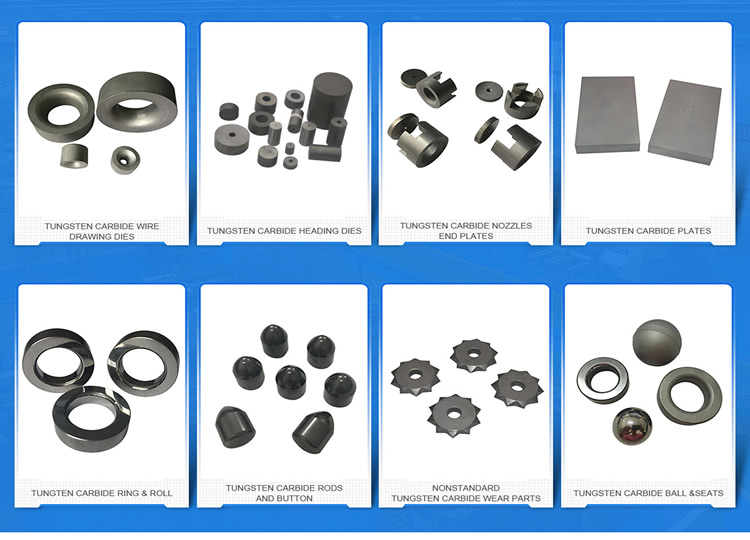 China agricultural machinery Wear parts tungsten carbide plates