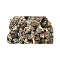 Dried Black Morel Mushrooms \ Morchella Esculenta \ Guchchi \ Wild Mushroom