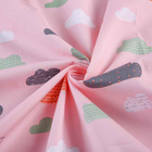 Hot Selling Baby Twill 100% organic cotton printed fabric for bed sheets