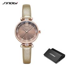 Часы SINOBI Женские, кварцевые, с имитацией керамики(Китай)