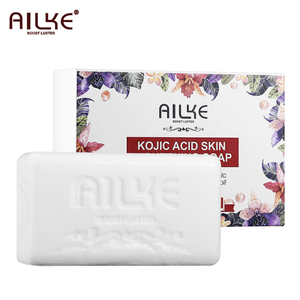 AILKE Beauty Product Kojic Acid Whitening Handmade Soap For body and face Skin Care