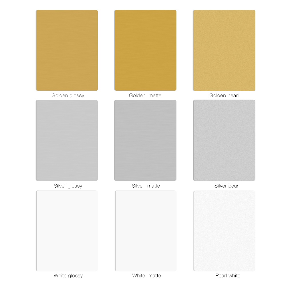 Good Quality customize DIY sublimation printing blank aluminum sheet photo panel aluminum metal sheet