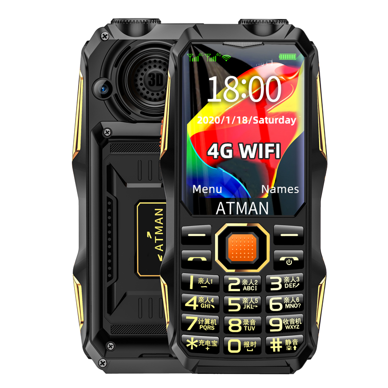 wholesale new 4g mobile phones cheap rugged phone big font big speaker for the old low price china 4g phone