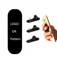 Universal Smartphone Grip Stand Car Mounts For Mobile Finger Ring Holder Grip Phone Finger