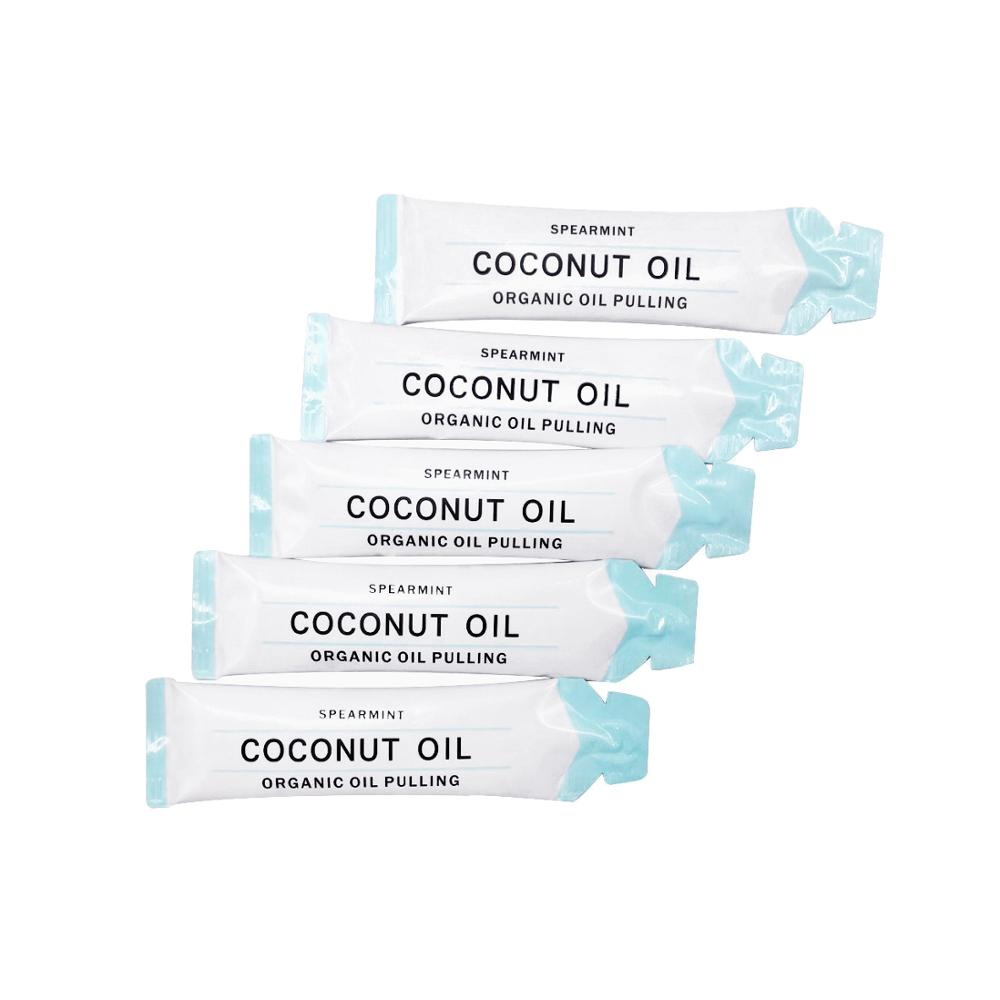 Private logo Activated Coconut Oil Pulling MouthWash Teeth Whitening