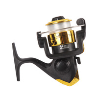competitive price high strength reel foot 5.2:1 saltwater carp fishing rod reel spinning