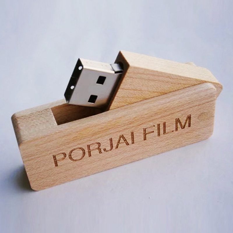 Bulk cheap wood pen drive usb flash Original memory chips Swivel wood USB sticks OEM wooden USB pendrive