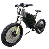 Electric bike 72V 8000W/5000w /3000w  stealth bomber electric bike and  electric tricycles