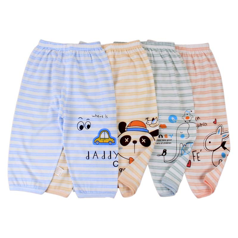 Hot sale of children's bamboo fiber knitted trousers in spring and summer 2020 new design pants