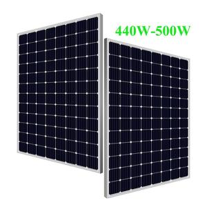 fast delivery free shipping 460watt 500watt solar panel with 96 cells