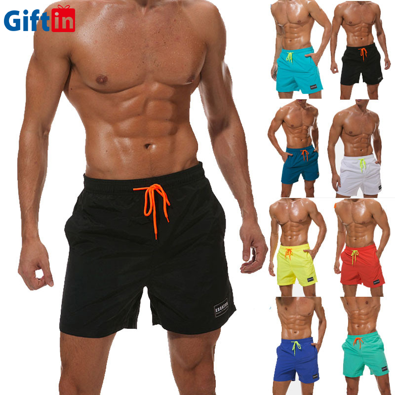 Wholesale Summer <strong>Dry</strong> Fit Microfiber Fabric Polyester Swimming Trunks Men Board Shorts Surfing <strong>Swimwear</strong> &amp; <strong>Beachwear</strong> Boardshorts