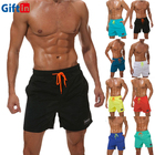 Wholesale Summer Dry Fit Microfiber Fabric Polyester Swimming Trunks Men Board Shorts Surfing Swimwear & Beachwear Boardshorts