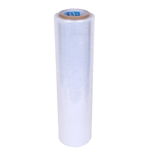 "Hand Stretch Film Shrink Wrap 18""x 1500 ft Shipping Clear Plastic Wrap"