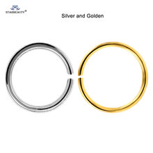 Поддельное кольцо для носа, 2 шт., 20 г, 0,8 мм(China)