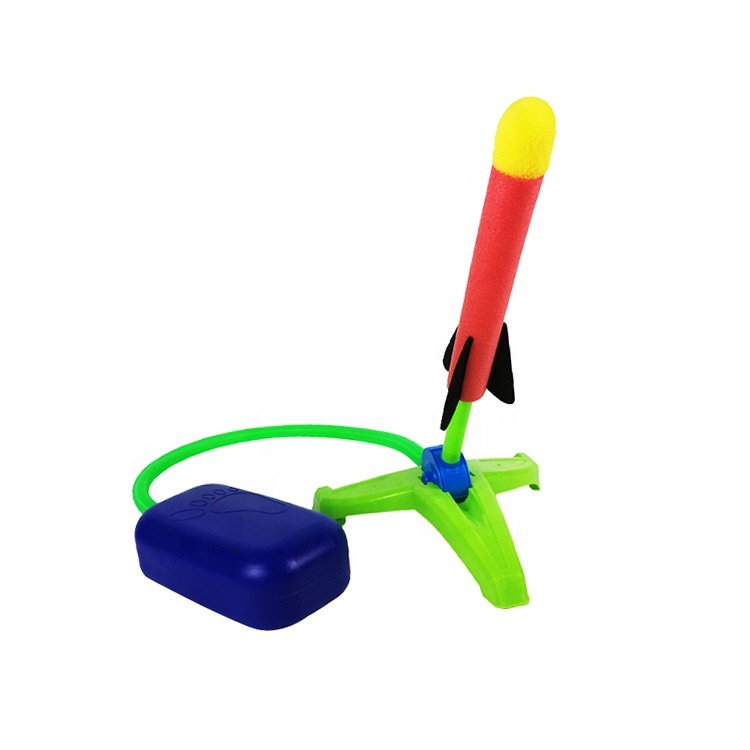 <strong>Kids</strong> air pump space rocket <strong>toys</strong> children <strong>outdoors</strong> game launcher <strong>toy</strong>