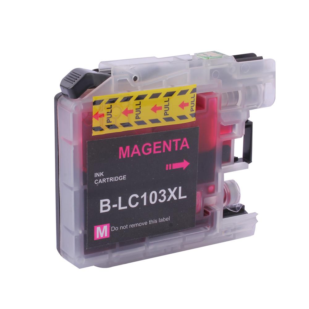 MFC-J245 MFC-J285DW MFC-J450DW MFC-J470DW MFC-J475DW MFC-J650DW 호환 프린터 리필 LC103 잉크 카트리지