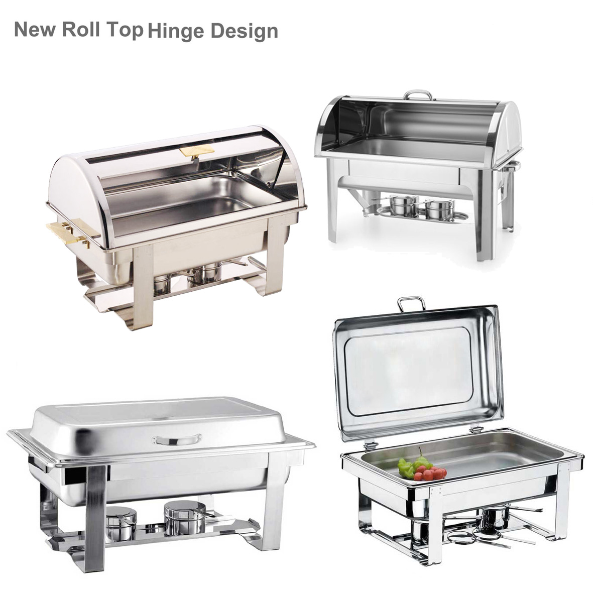 Deluxe Roll Top guangzhou chafing dish