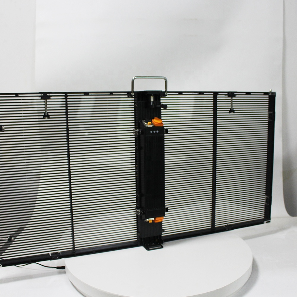 High Quality Newest Product P3.91Transparent Screen LED Screen  Rental Panel