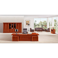 Office Furniture Wood Executive Office Desk Table For One People Chairman Manager Director Office Table