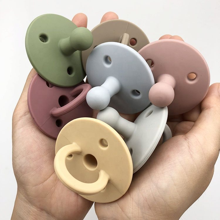 silicone baby pacifier custom orthodontic pacifier manufacturer baby nipple products mouth Soothe baby sleep