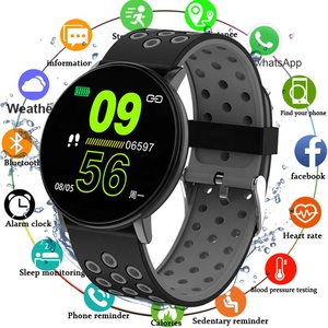 W8 smart bracelet sports heart rate monitor ip67 waterproof multiple sports modes Call message reminder Android ios cheaper band