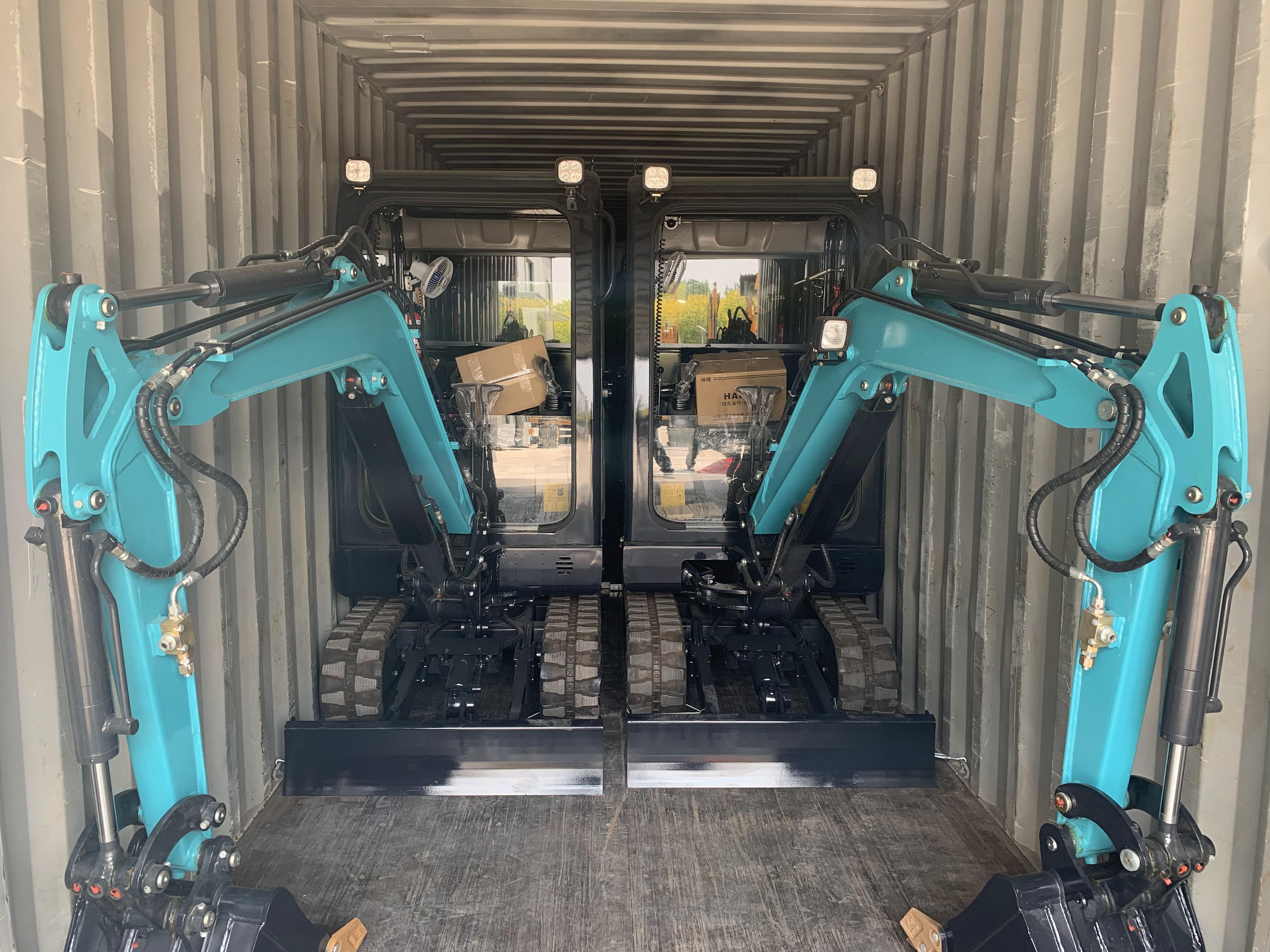 Ampliamente utilizado estándar internacional 2,2 ton nueva mini excavadora los precios