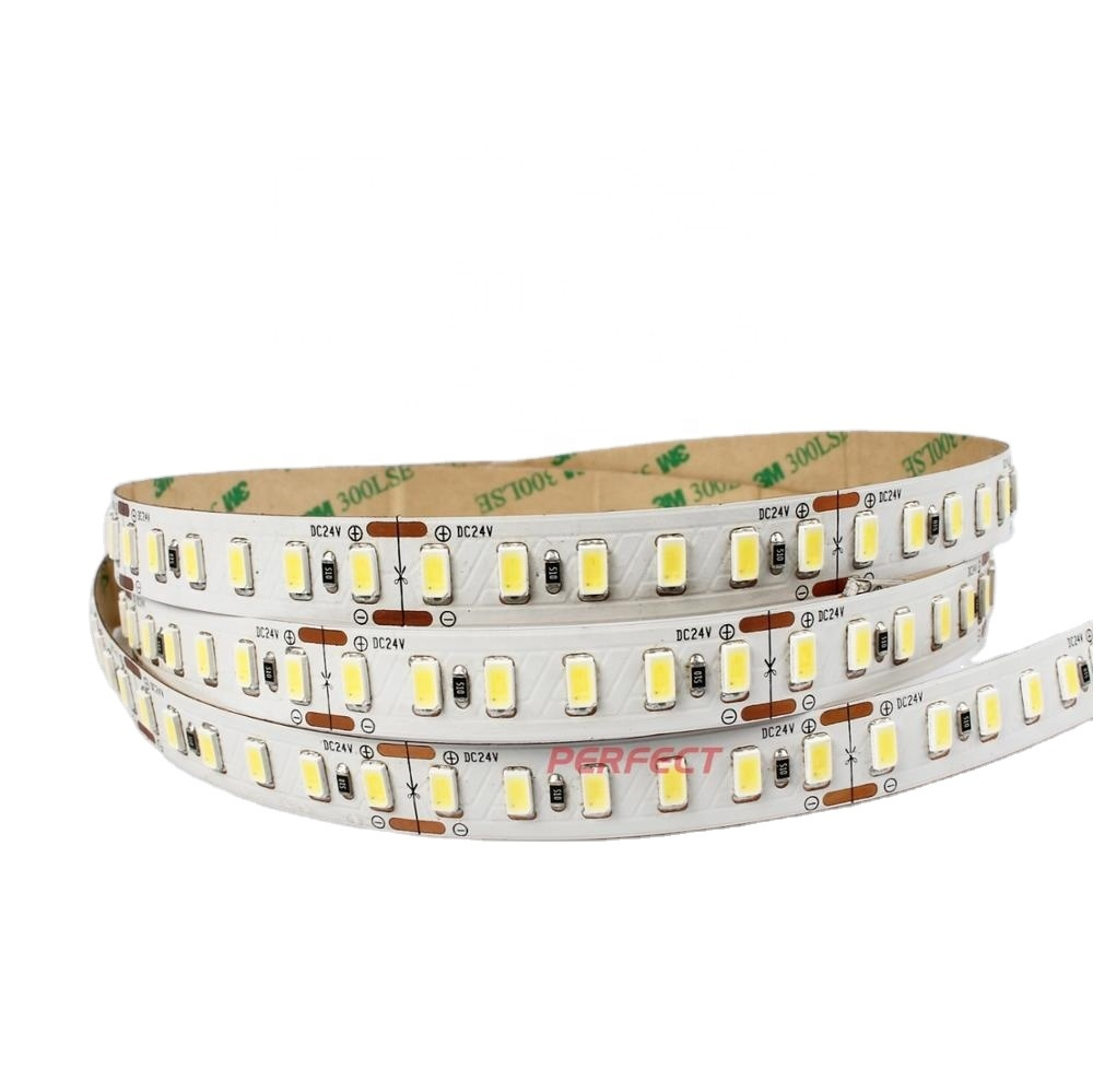 High density 120leds/m super bright samsung SMD5630 led strip light with 3 years warranty