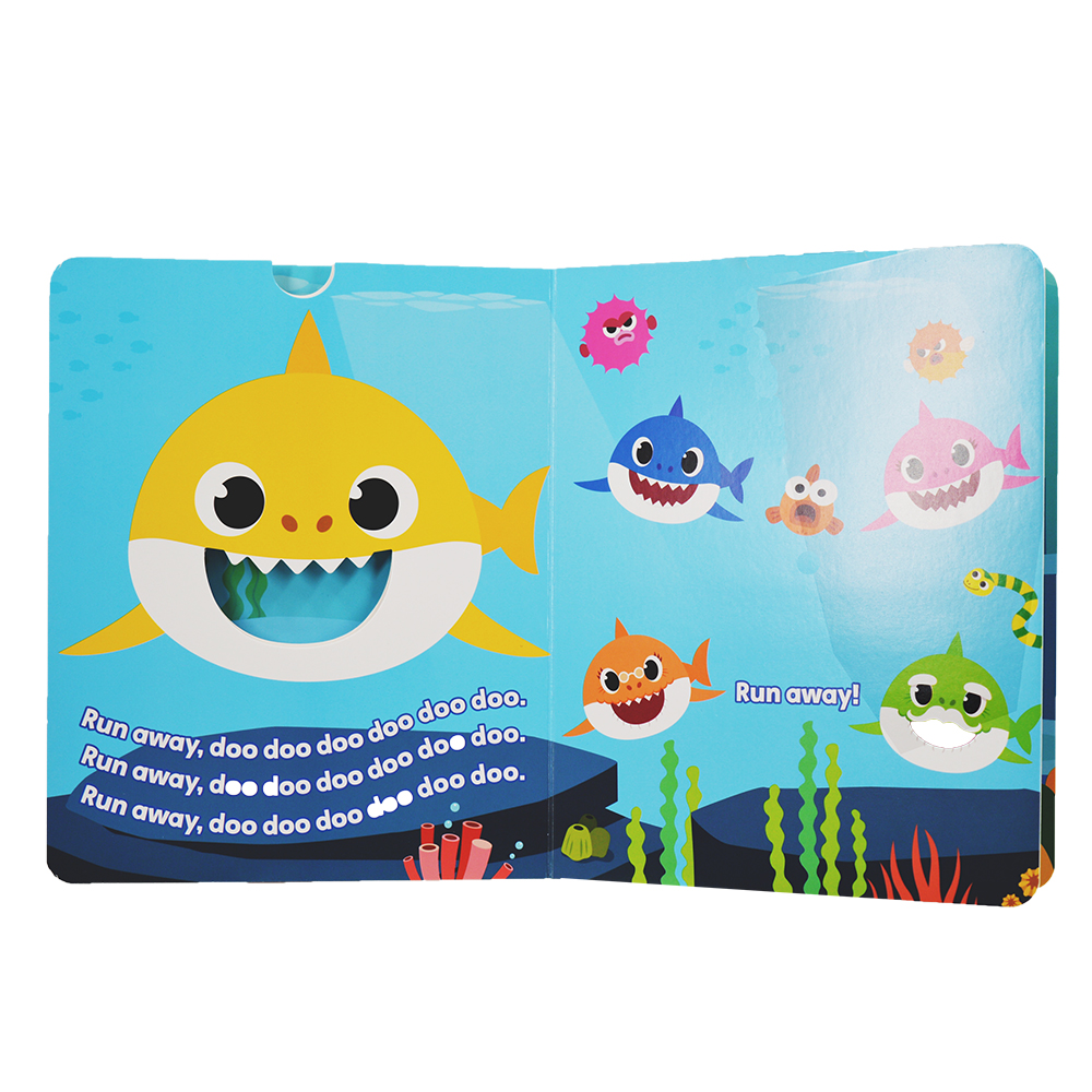 OEM a b c book for children colorful story board books for children