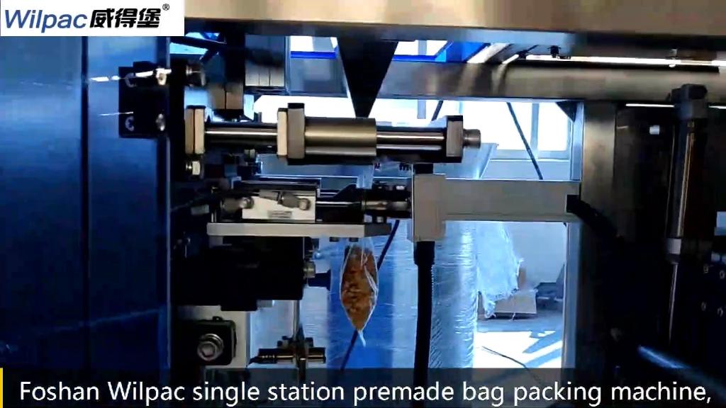 tea leaves zipper bag packing machine