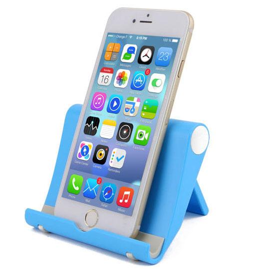 Mobile phone accessories custom logo print OEM Abs universal potable desk cell phone holder