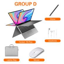 Teclast ноутбук 13,3 дюйма F6 Plus сенсорный экран вращение на 360 градусов 1920 × 1080 8 ГБ ОЗУ 256 Гб ПЗУ Windows 10 OS 38000mWh аккумулятор(Китай)