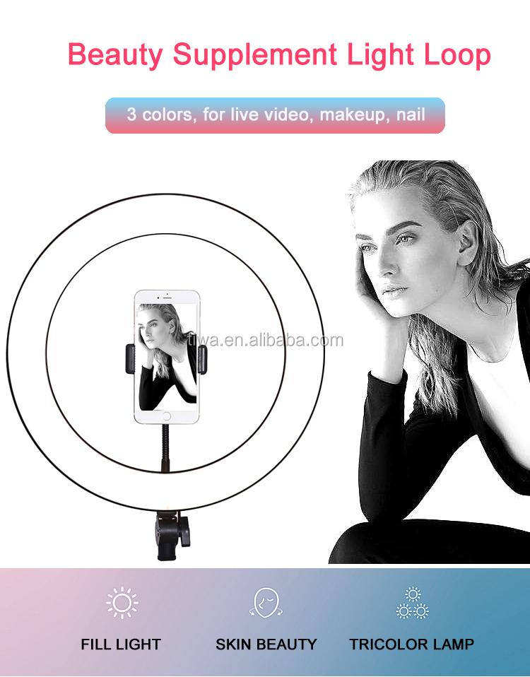 10 inch USB có thể điều chỉnh mắt quyến rũ LED Selfie Phone Ring Light