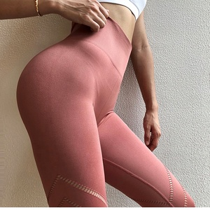 Latest Fashion High Waisted Leggings fitness for Women Sexy Girls in Yoga Pants Gym Wholesale Fitness Clothing