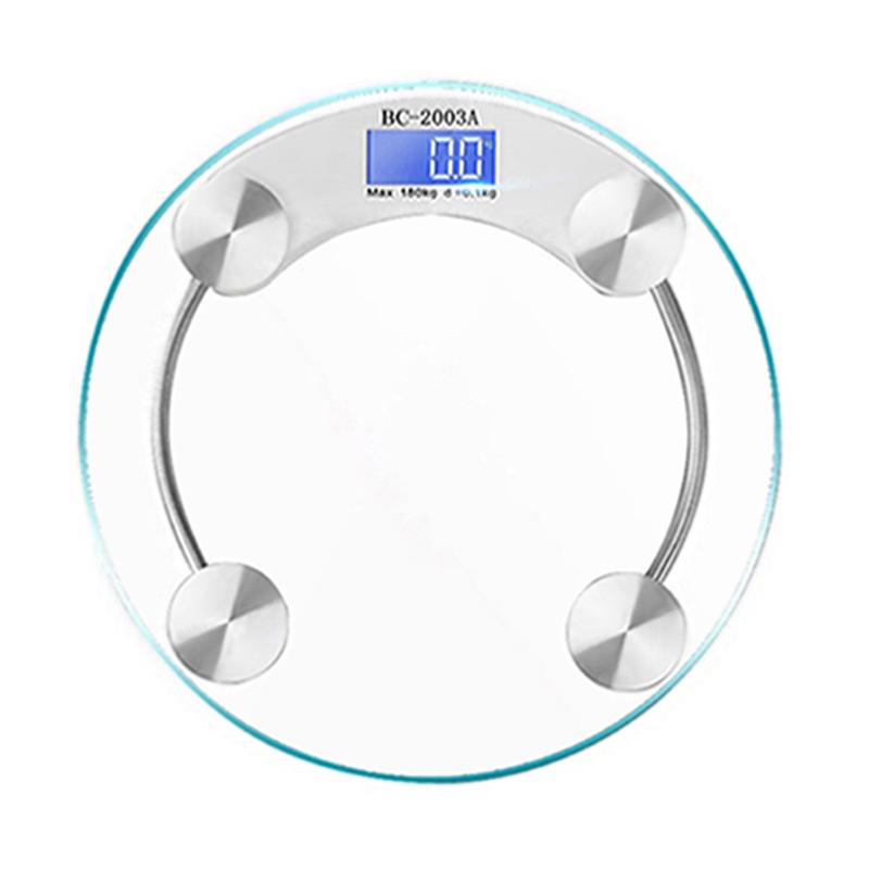 Весы для тела Цифровые Персональные Весы, 180 кг тела весом Круглое стекло электронные Китай Вес весы