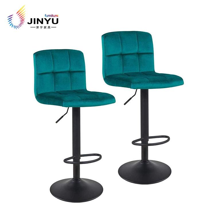 Modern bar stool chair swivel with armrest