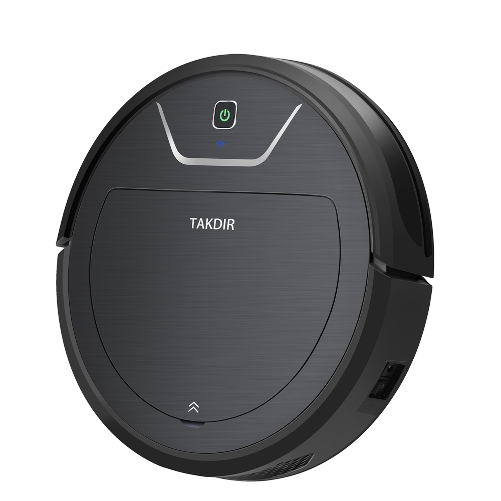 Takdir Automatic Vacuum Cleaner Robot  Wet And Dry Smart Cleaning Robot Mopping Sweeping