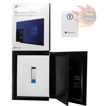 Wholesale Usb Fpp Package Microsoft Windows 10 Pro Oem Coa ...