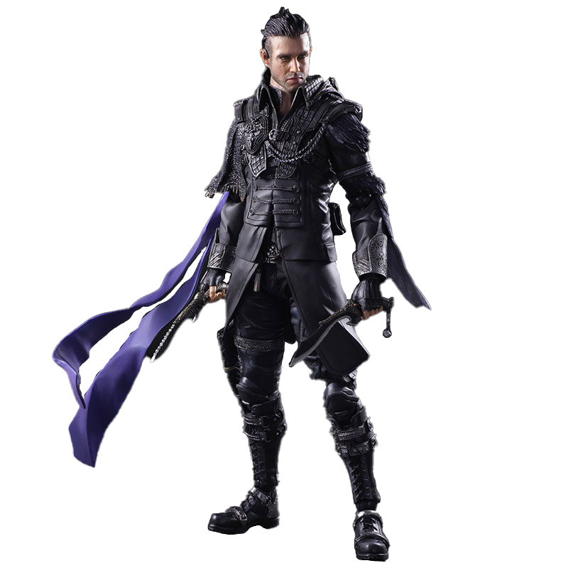 Japan Anime Final Fantasy XV Nyx Ulric action-figuren 1/6 skala modell günstige flexible militär action-figuren PVC spielzeug