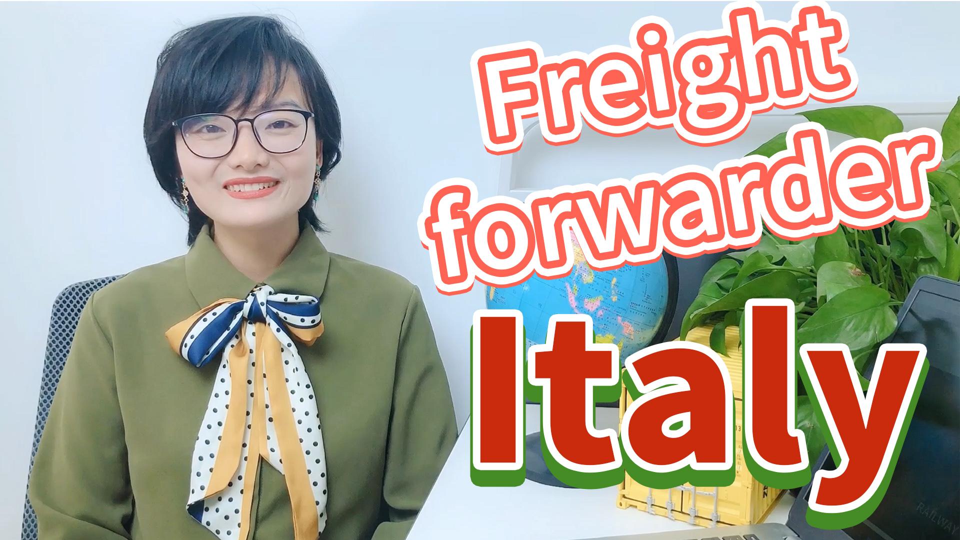 Агент по отправке грузов морем Шэньчжэнь грузоперевозка из Китая в Италии