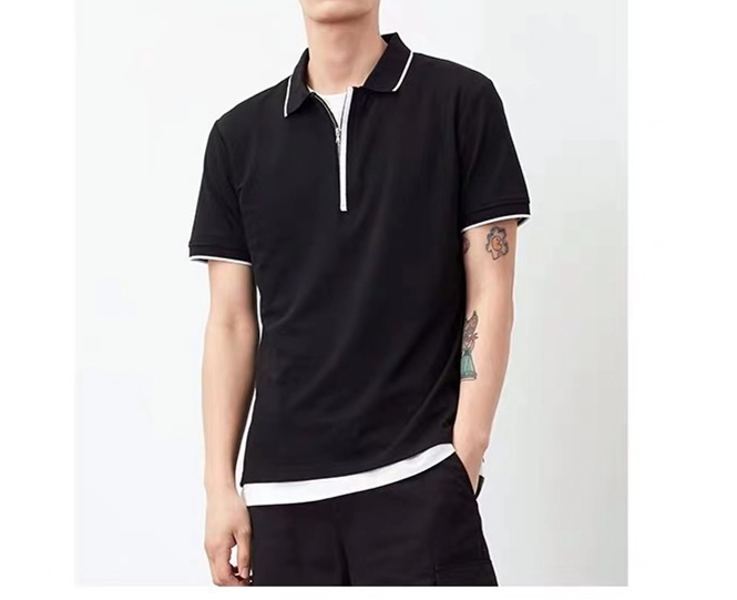 Cheap Price High Quality Slim Fit Cotton And Polyester Short Sleeve Polo shirt