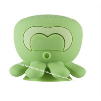 Indoor Octopus Adsorption Waterproof Bluetooth Speaker Mini Sucker Portable Phone Music Bluetooth Small Speaker