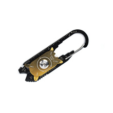Ultralight Edc Draagbare Mini Utility Fixr 20 In 1 Pocket <span class=keywords><strong>Multi</strong></span> <span class=keywords><strong>Tool</strong></span> Sleutelhanger Outdoor Camping Sleutelhanger Gereedschap