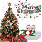 2020 Decoration Gift Personalized Survivor Family With Face Muffle Hand Sanitized Christmas Ornaments Sets For Home