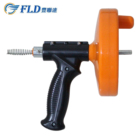 Hot sale portable hand tool pipe drain cleaner machine for toilet bathroom kitchen application