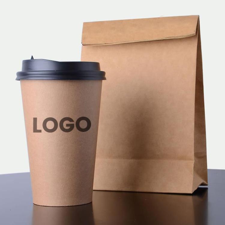 סין כוס נייר יצרן לבן נייר קפה עם מכסי ושרוולים